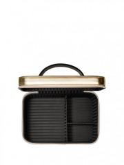 Luxusní kosmetický kufřík Vanity Case zlatý