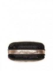 Kosmetická taška na dva zipy Gold Crackle