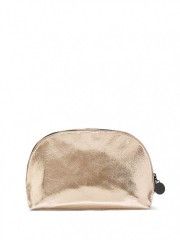 Zlatá kosmetická taška Metallic Crackle Glam Bag
