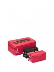 Kosmetický kufřík Victorias Secret se dvěma taštičkami