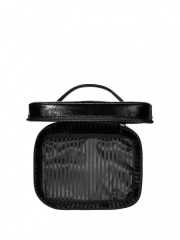 Kosmetický kufřík + taštička Metallic Crackle Duo