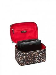 Leopardí duo kosmetických taštiček