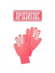 Zimní set rukavice a čelenka