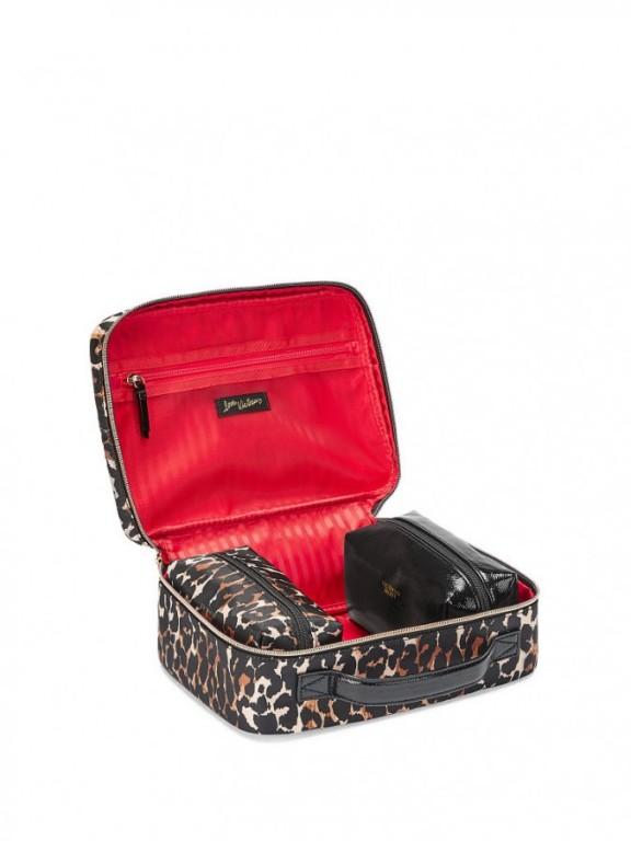 Trio kosmetických taštiček Exotic Leopard Jetsetter Travel Case