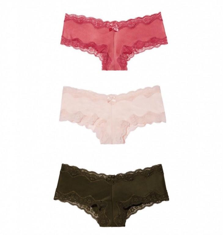 Luxusní set brazilských kalhotek Victoria's Secret vel. L