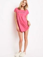 Růžová noční košile Victorias Secret