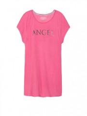 Růžové triko na spaní Victorias Secret