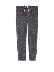 Puntíkované kalhoty na spaní