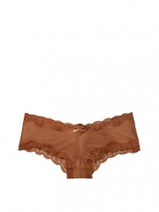 Bronzově hnědé cheeky kalhotky