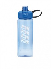 Velká modrá lahev na pití Victorias Secert PINK