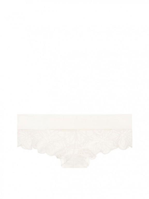 Sexy krajkové kalhotky Floral Lace Cheekster krémové