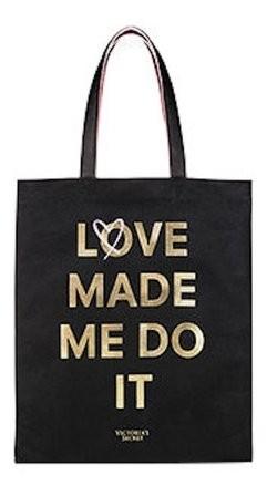 Plátěná taška 2v1 Victoria's Secret Love Made Me Do It Tote