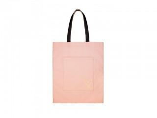 Plátěná taška zadní strana s kapsou
