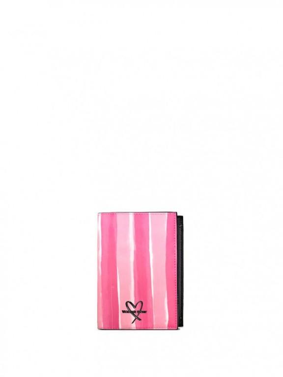 Pouzdro na cestovní pas Victoria's Secret Passport Cover růžové