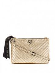 Zlatá crossbody kabelka Victorias Secret