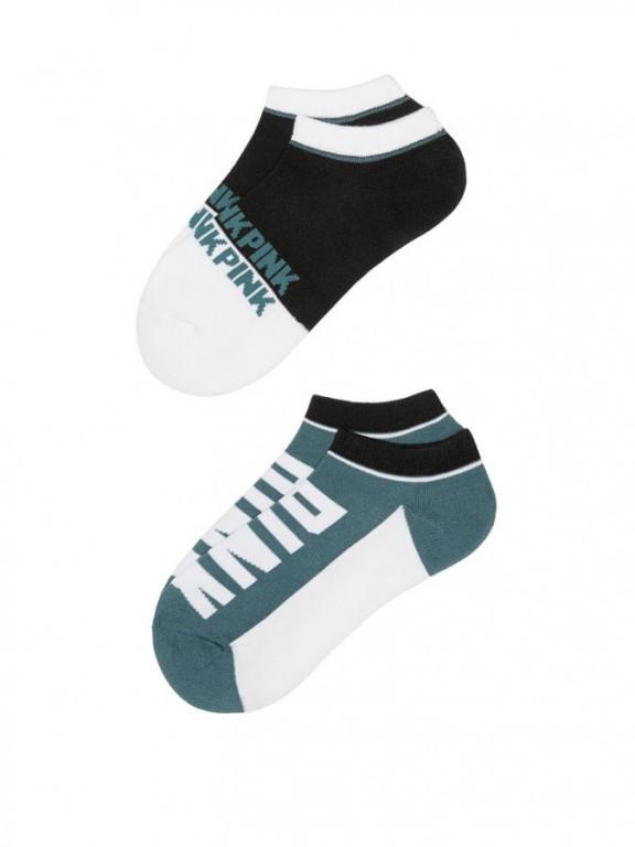 Victoria's Secret PINK kotníkové ponožky Ultimate Low Show Socks