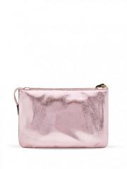 Růžová kabelka s odepínatelným popruhem