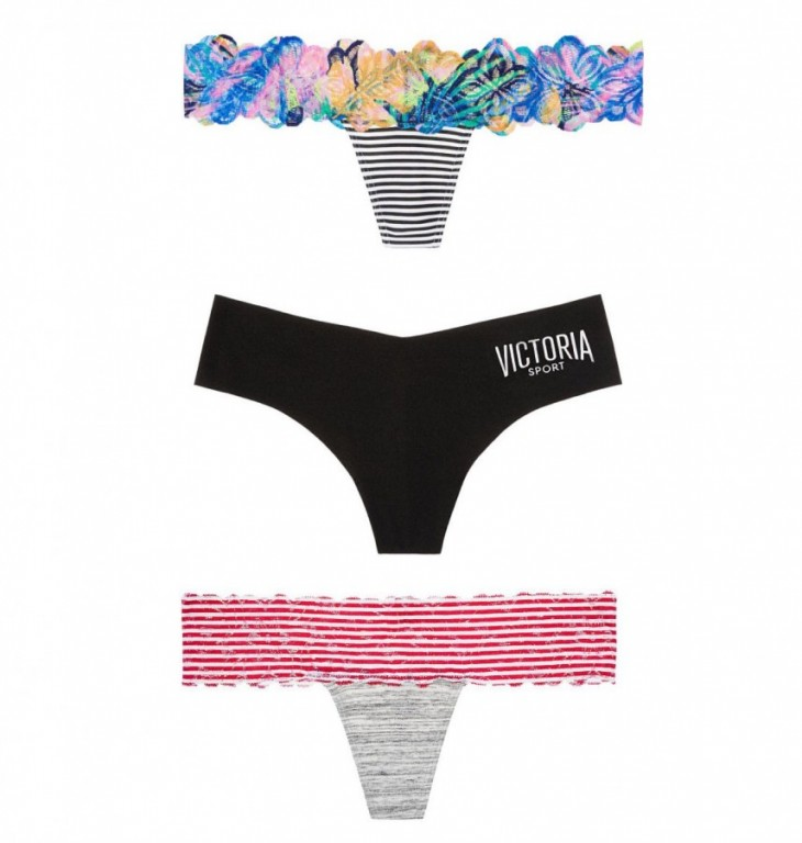 Set tangových kalhotek Victoria's Secret vel XS
