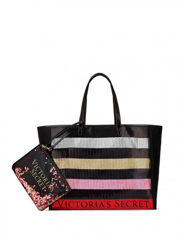 Victoria's Secret flitrovaná taška s psaníčkem