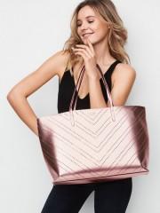 Luxusní růžová taška s malým psaníčkem