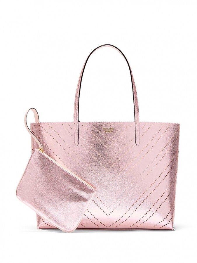 a1e72336a6 Victoria s Secret luxusní kabelka 2v1 Laser Cut Everything Tote ...