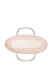 Růžová metalická taška VS
