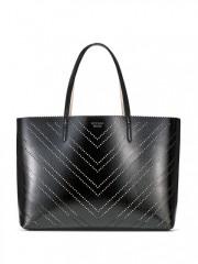 Lesklá černá taška Victorias Secret
