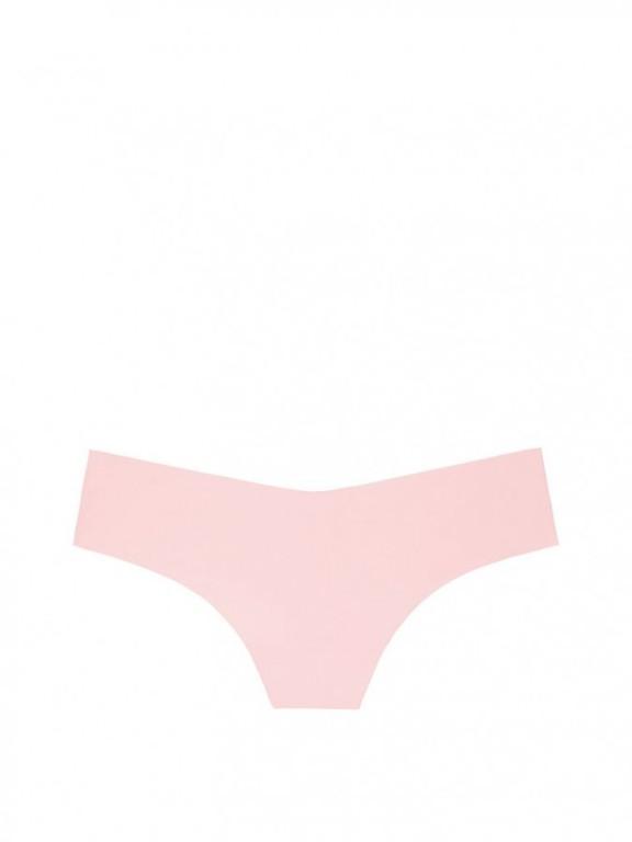 Victoria's Secret růžová sexy bezešvá tanga Raw Cut Thong Panty