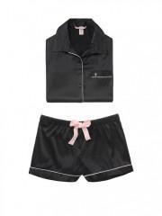 Krátké saténové pyžamo Victorias Secret