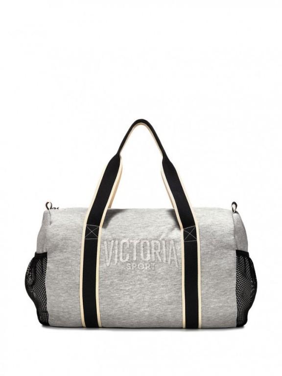 Victoria's Secret sportovní taška Victoria Sport Duffle šedá