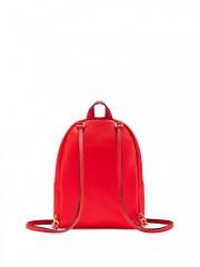 Červený batůžek s nastavitelnou délkou popruhů