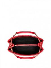 Luxusní červená kabelka Victorias Secret - horní pohled