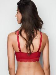 Červená sexy push-up braletka Victorias Secret