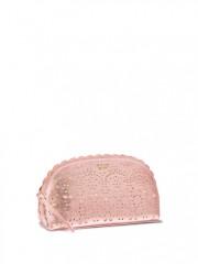 Luxusní růžová kosmetická taštička Victorias Secret