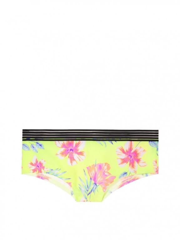 Victoria's Secret brazilské kalhotky Sheer Stripe Waist Cheekster