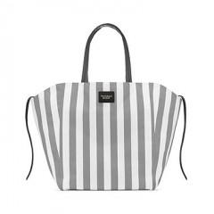 Plátěná pruhovaná taška Victorias Secret