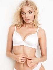 Victorias Secret pohodlná bílá podprsenka bez kostic