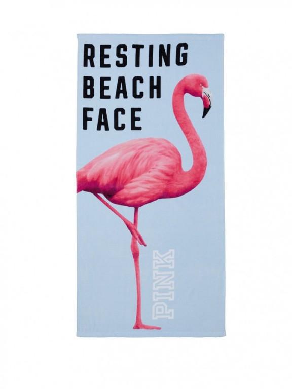 Victoria's Secret plážová osuška Beach Towel Periwinkle
