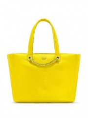 Victorias Secret žlutá prostorná kabelka