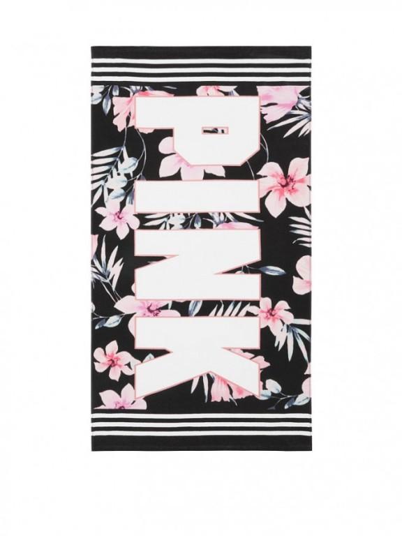 Victoria's Secret plážová osuška Beach Towel Floral