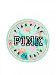 Kruhový ručník Victorias Secret PINK květinový