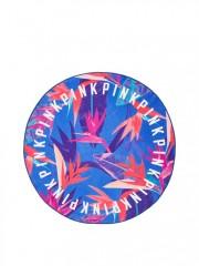 Pestrobarevná kruhová osuška Victorias Secret PINK