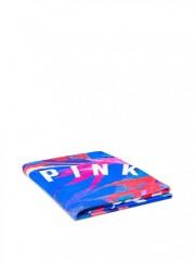 Stylová kruhová osuška Victorias Secret PINK pestrobarevná