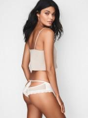 Luxusní krémové sexy kalhotky Victorias Secret