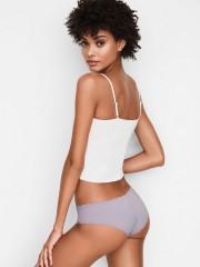 Brazilské bezešvé šedofialové kalhotky