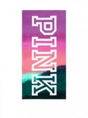 Victorias Secret PINK barevná plážová osuška