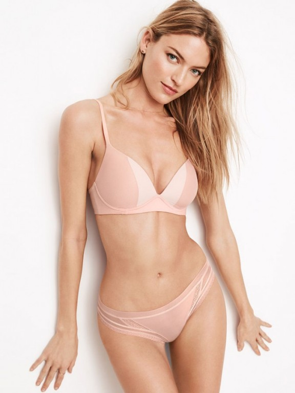 Victoria's Secret tělová podprsenka bez kostic Wireless Bra Body by Victoria