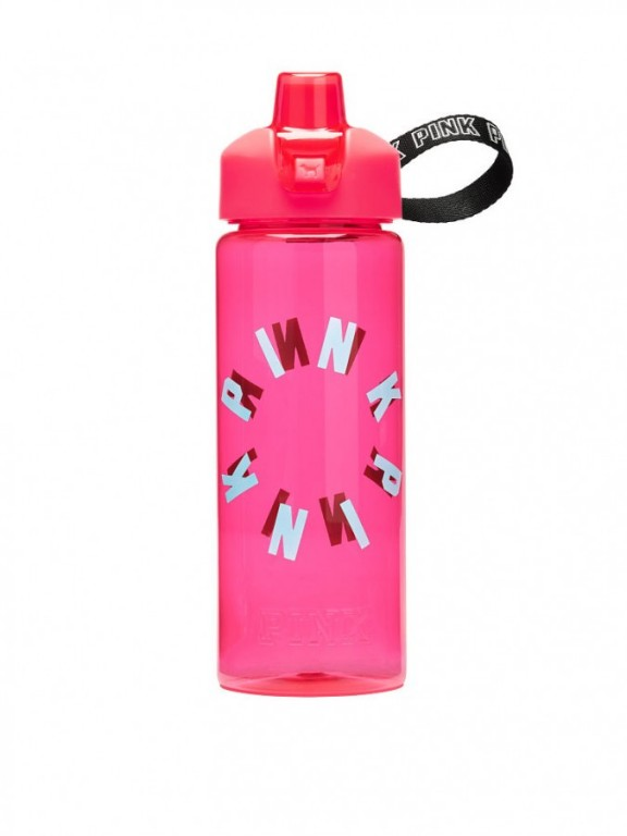Victoria's Secret PINK velká lahev na pití Collegiate Water Bottle Red