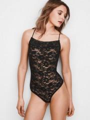 Průsvitné krajkové body Victorias Secret