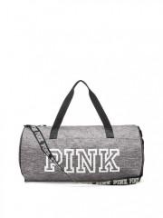 Šedá sportovní taška Victorias Secret PINK